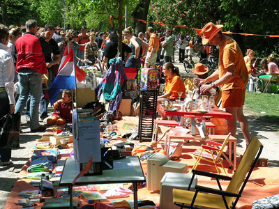 The annual `Vrijmarkt´